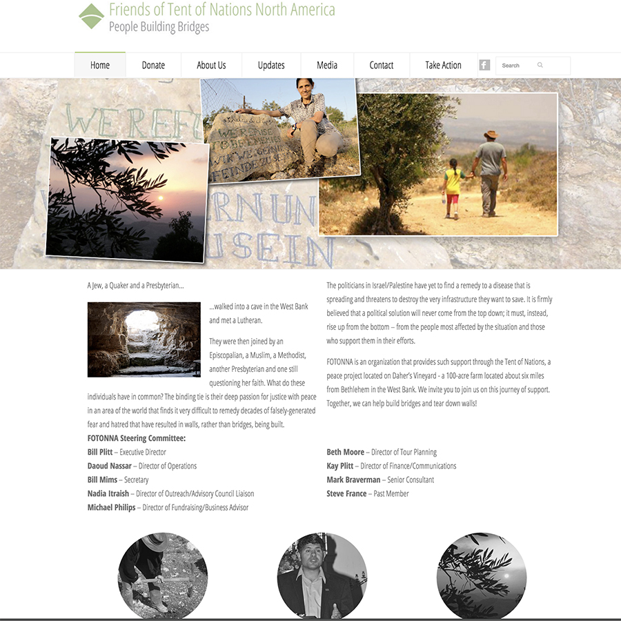 FOTONNA Website Wordpress