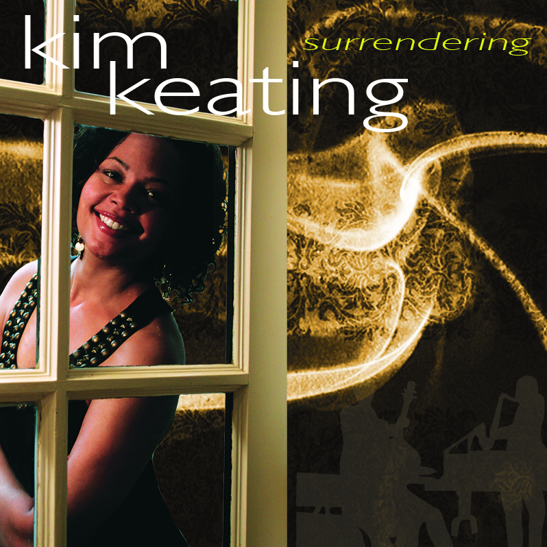 Kim Keating - Surrendering - Adobe Photoshop CD Cover Design